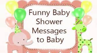 baby shower messages to baby