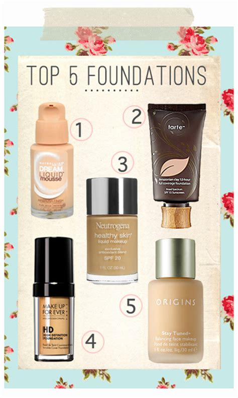 what is the best full coverage foundation for 2015 my top foundation picks miss louie