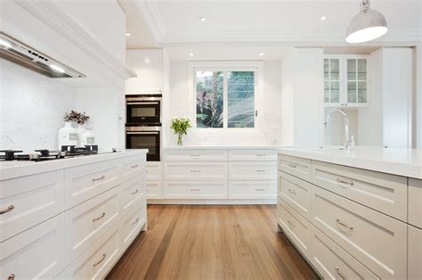 Coastal Style Homes by Hampton Kitchen Style Collaroy Northern Beaches