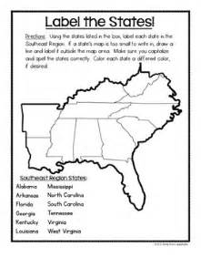 regions of the united states southeast region by shelly