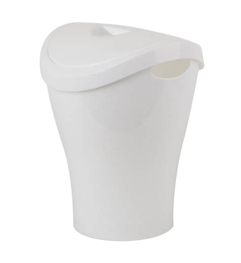 small swing top trash can umbra small swing top trash can white in small trash cans