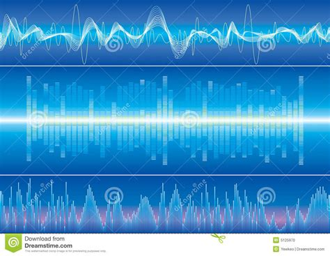 stock sound sound wave background stock photo image 5125970
