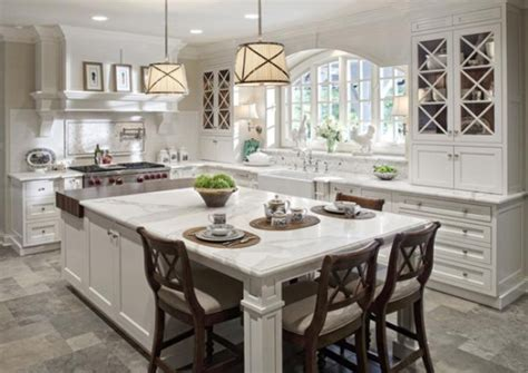 white kitchen islands with seating 38 amazing kitchen island inspirations godfather style