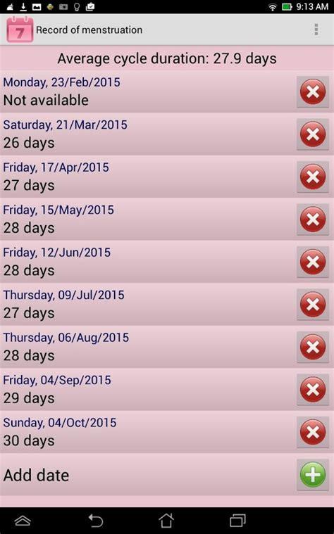 Free Ovulation Calendar Menstrual Ovulation Calendar Android Apps On Play