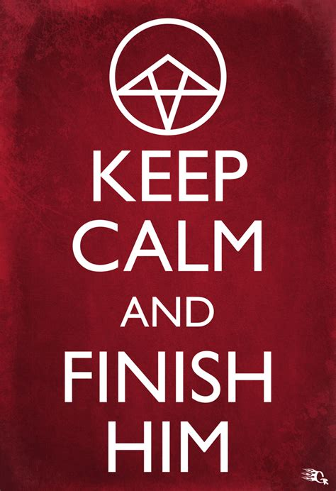 Oh Sleeper The Finisher keep calm and finish him by gaberios on deviantart