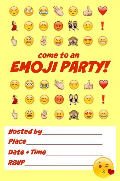 Emoji Birthday Card Template by Ultimate Emoji Idea Guide Snacks Crafts