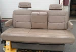 Conversion Van Sofa Bed Rv Conversion Van Camper Motor Home Leather Folding Sofa