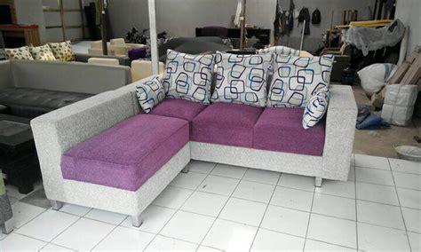 Sofa Bed L Minimalis jual sofa l minimalis sofa bed lantai n reclening sofa l