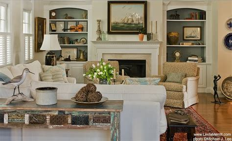 French Country Outdoor Lighting - casual living room traditional living room boston by linda merrill