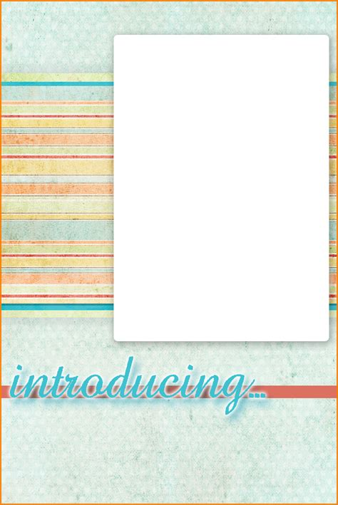 free baby announcement templates free baby announcement templates authorization letter pdf