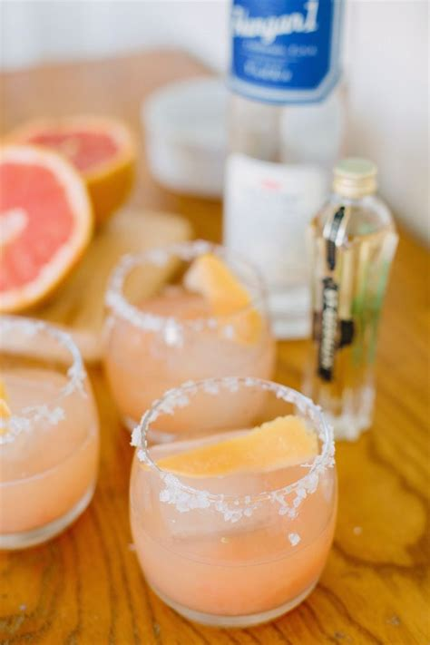martini grapefruit vodka salty dog cocktail recipe dishmaps