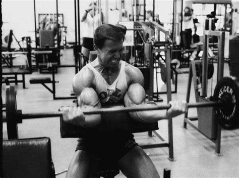 larry scott preacher bench schwarzenegger and other strong dudes you who have