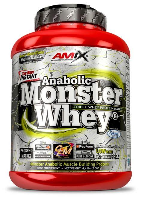 Monsta Whey Amix Amix Nutrition Anabolic Whey 174 Pwd