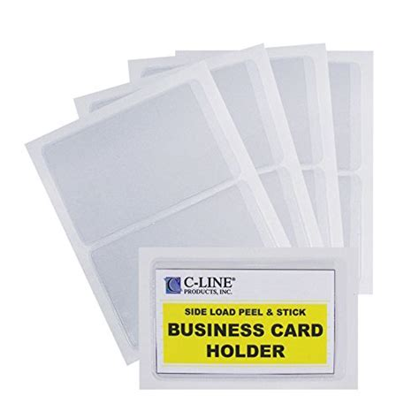 2 X 3 5 Business Card 10 Per Page Template by Self Adhesive Binder Label Holders For 1 2 Quot Ring Binders