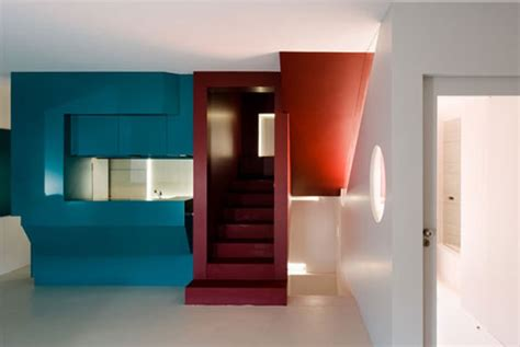 interior colour painting in primary colors stark simple interior design