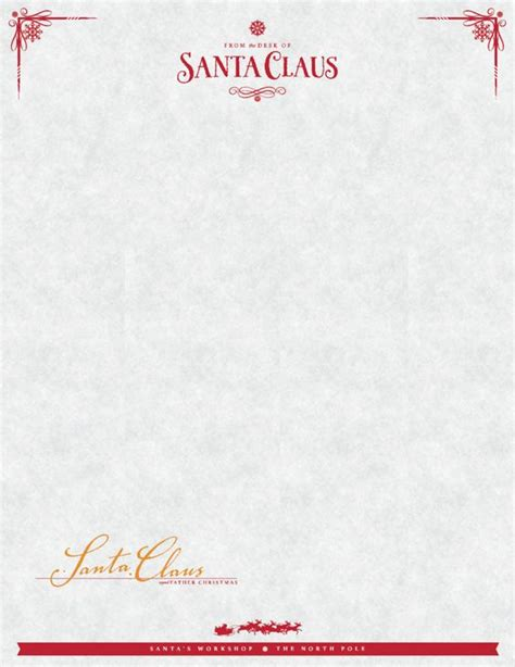 santa letter template freeadorablesantalettertemplatemamachallenge sign up to receive your free quot from the desk of santa