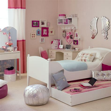 girls bedroom design pretty bedroom ideas simple home decoration