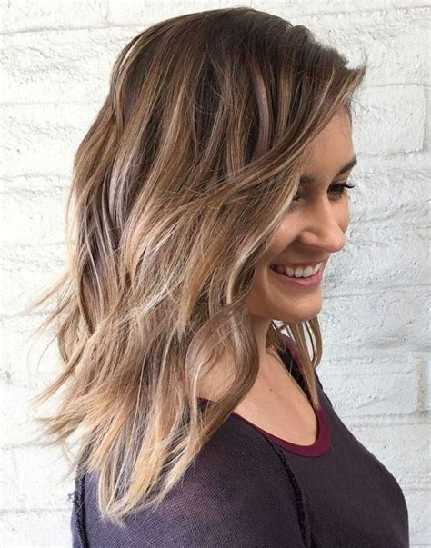 Brilliant Hair Color Curly Medium Length Hairstyles 2017