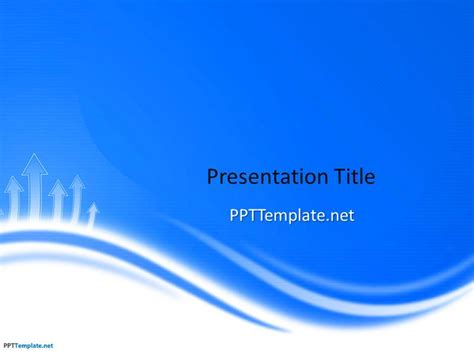 free blue ppt template