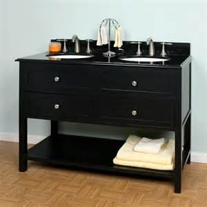 48 Black Bathroom Vanity Bathroom Furniture Fixtures And Decor Signature Hardware