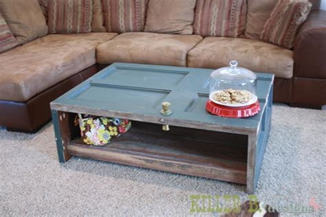 coffee table made from door 10 creative door repurpose ideas hative