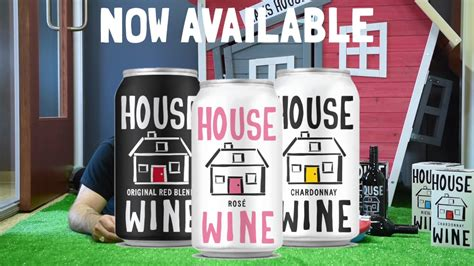 house wine house calls with hal house wine cans youtube