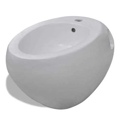 bidet toilette vidaxl co uk wall hung toilet bidet set white ceramic