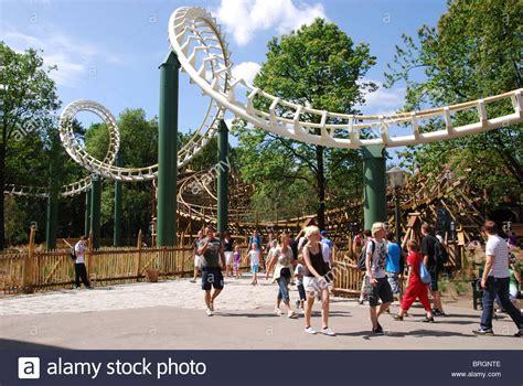 theme park netherlands roller coaster at efteling theme park kaatsheuvel