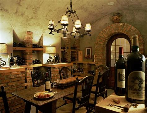 Wine Bedroom Ideas by Inspiring Wine Cellar Designs