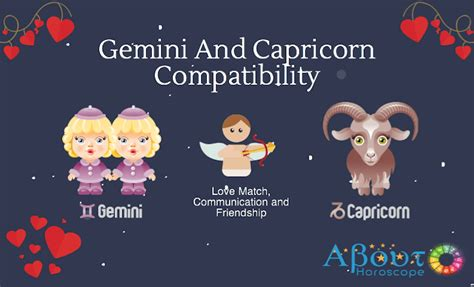 gemini and capricorn compatibility love and friendship