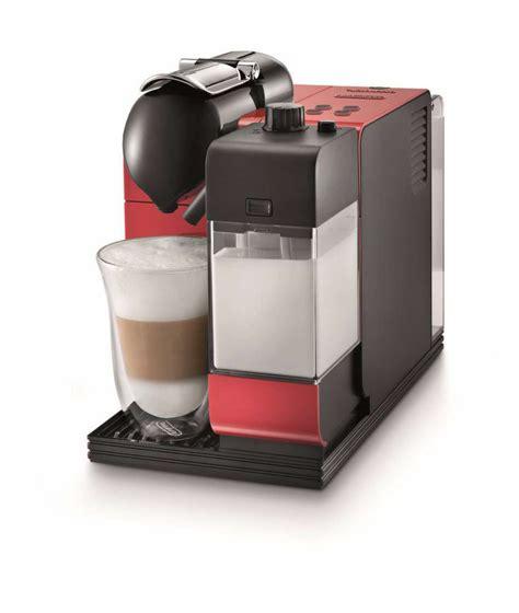 delonghi lattissima plus nespresso capsule system at chefs corner store