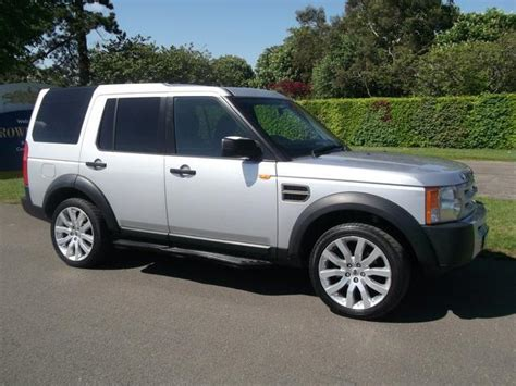 land rover discovery 2005 used 2005 land rover discovery 4x4 silver edition 2 7 td
