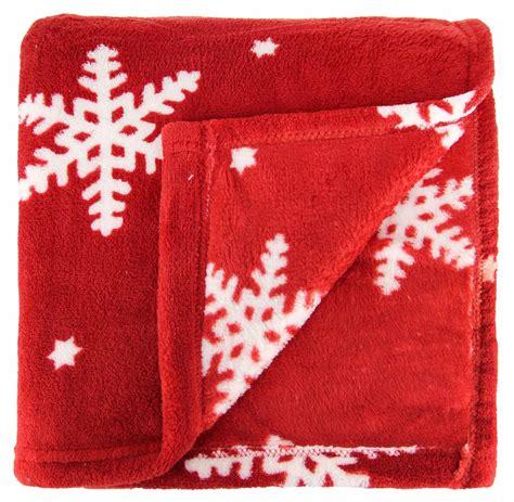 christmas throw blanket festive fleece plush and cosy