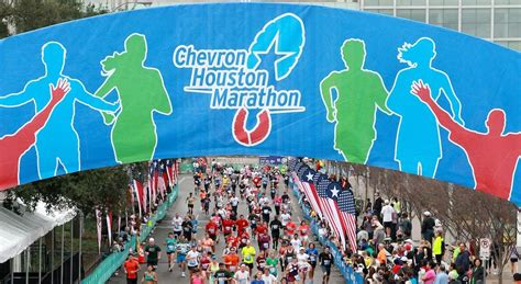 Houston Running Calendar Chevron Houston Marathon Expo At George R Brown