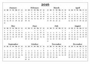 Desk Calendar Month To View 2016 Calendar Download