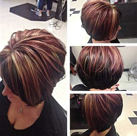 highlighted hair over fifty women 15 best short haircuts for over 40 short hairstyles 2017