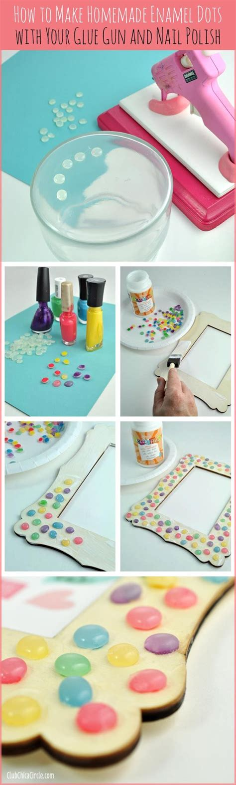 7 Crafts To Do At Home by 31 Incredibly Cool Diy Crafts Using Nail Glue