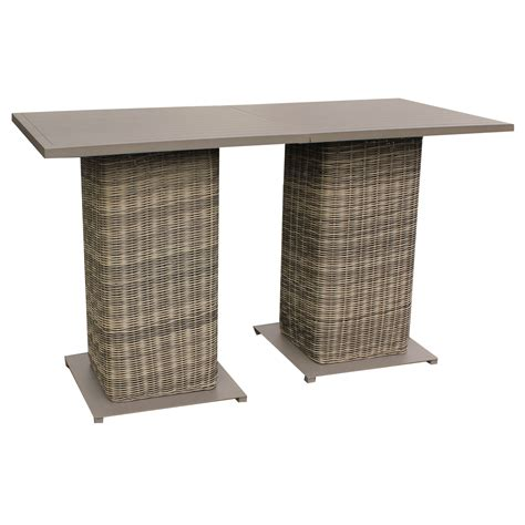 Wicker Bar Table Tk Classics Cape Cod Pub Table Set With Barstools 5 Outdoor Wicker Patio Furniture