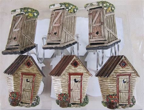 outhouse shower curtain hooks 17 best images about outhouses and ideas for the outhouse