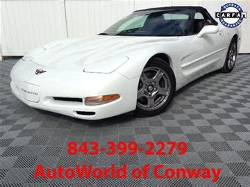 pelham court motors 1998 chevrolet corvette for sale carsforsale