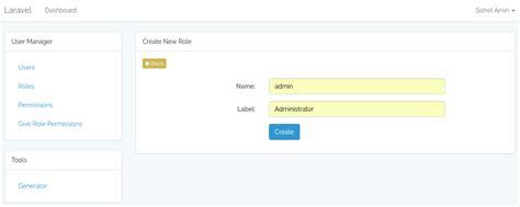 laravel tutorial admin panel github appzcoder laravel admin laravel admin panel