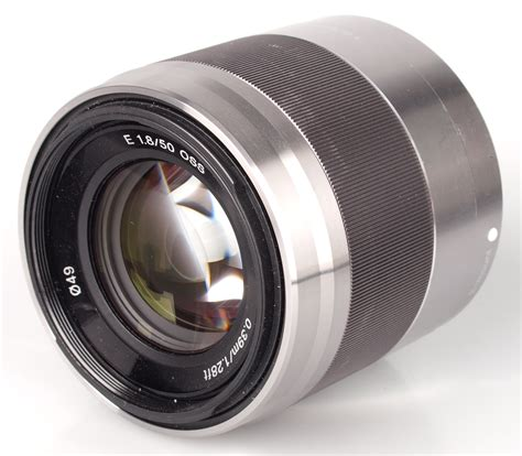 Lensa Sony E 50mm F18 Oss Sony Sel 50mm F18 Oss Silver sony nex 50mm f 1 8 oss lens review