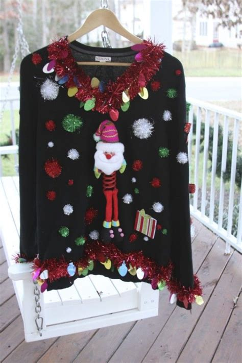 15 do it yourself ugly christmas sweaters crafts