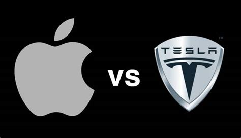 Tesla Apple Is Apple Going To Challenge Tesla With An Electric Car