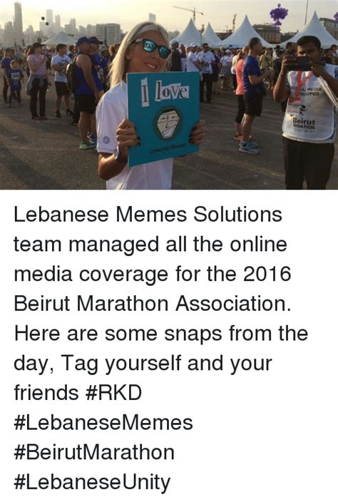 Lebanese Memes - al media roper beirut marathon lebanese memes lebanese memes solutions team managed all the