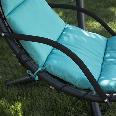 hanging lounger swing hanging chaise lounger chair arc stand air porch swing