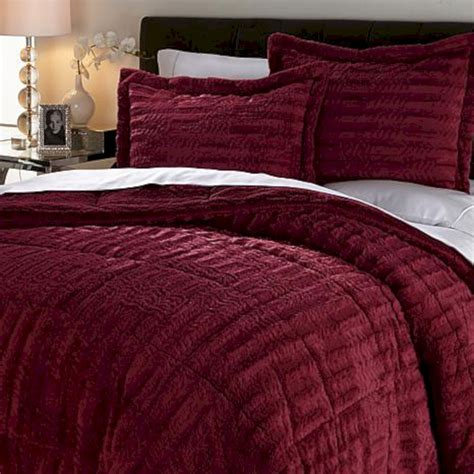 long re faux fur comforter set fres hoom