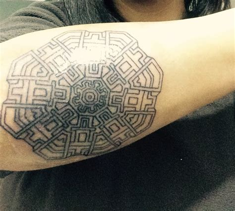 sacred geometry tattoo wearing one soon pinterest