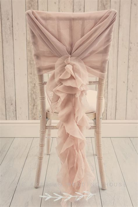 Ruffle Chair Sash by 25 Best Ideas About Dusky Pink Weddings On