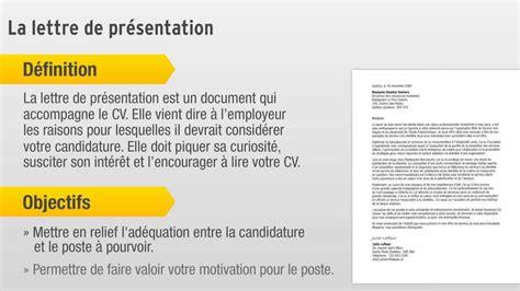 Lettre De Prã Sentation Formation Pour Les Stages La Lettre De Pr 233 Sentation
